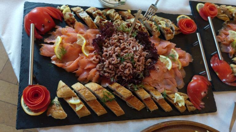Fischplatte von Cateringservice Rode